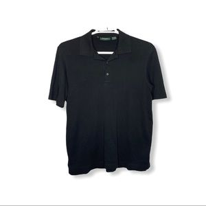 Bobby Jones Black Golf Polo size Medium